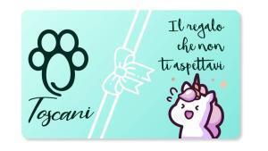 carta regalo toscani