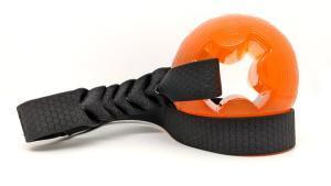 Giocoper cani galleggiante waterpfroof palla per cani lancio contesa tira e molla arancione